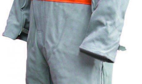 Combinaison cuir/coton