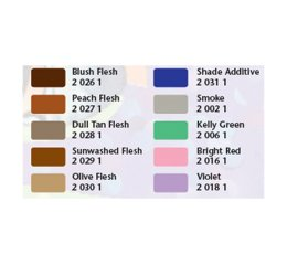 Coloris kit de peinture aérographe