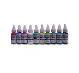 Kit de peinture à aérographe - couleurs secondaires opaques