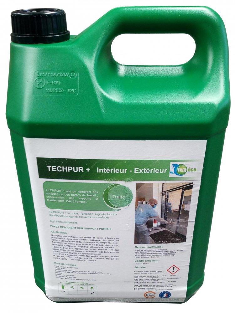 Bidon de désinfectant 5l - norme EN14476