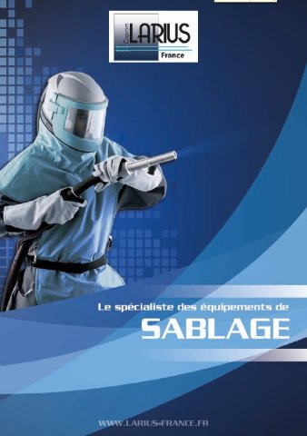 Catalogue sablage Larius France