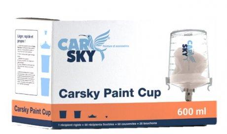 Godet flexible peinture Carsky