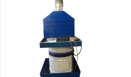Captage à la source pour fût de 200 litres