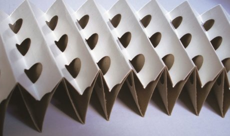 Filtre carton plissé